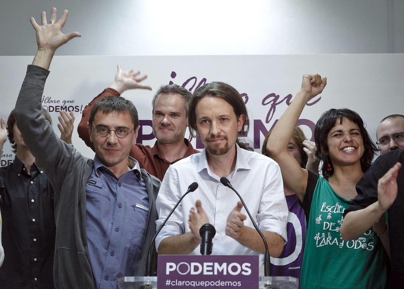 Pablo Iglesias líder de Podemos