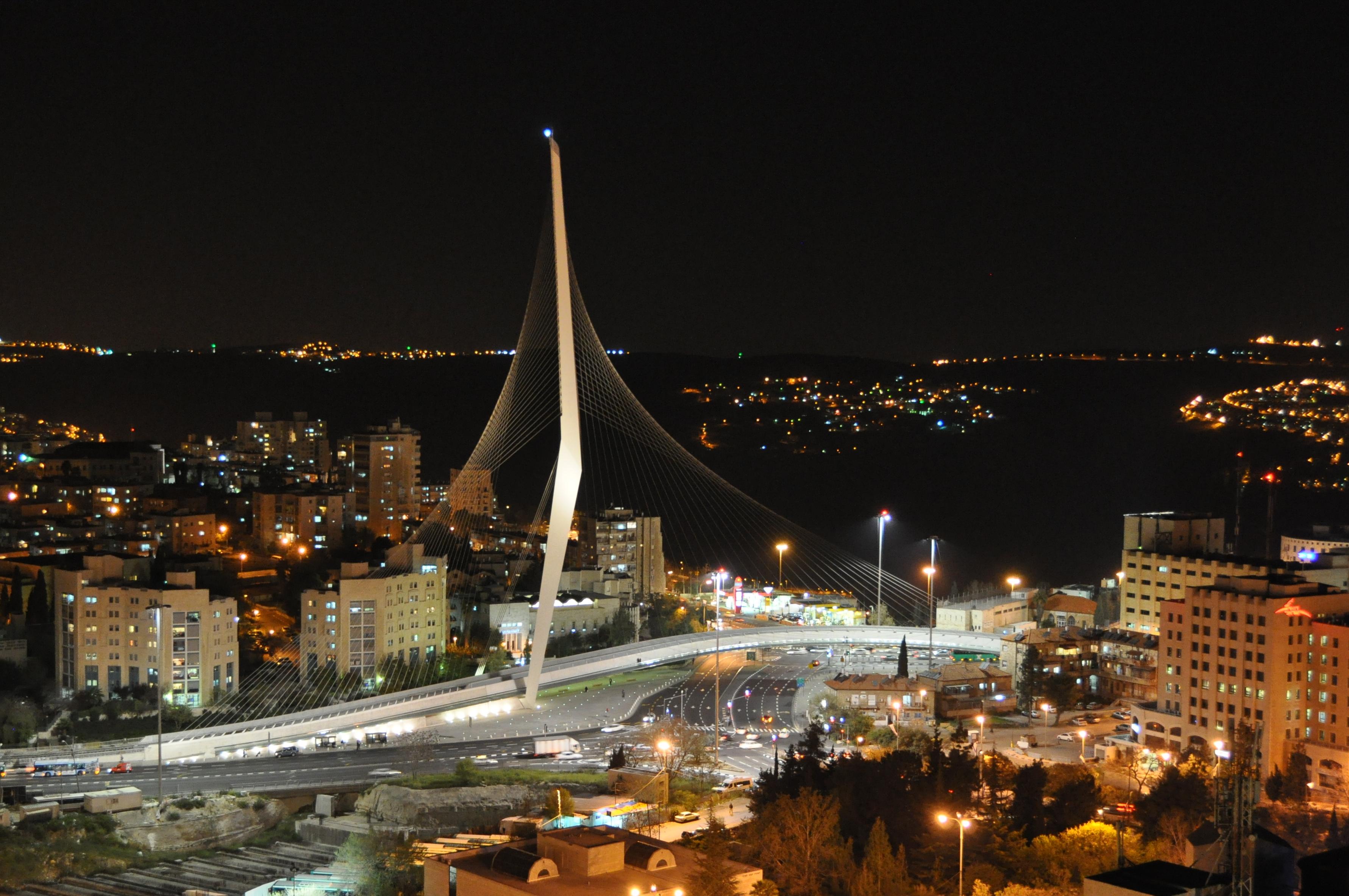 Puente de la Armonía, Jersusalén