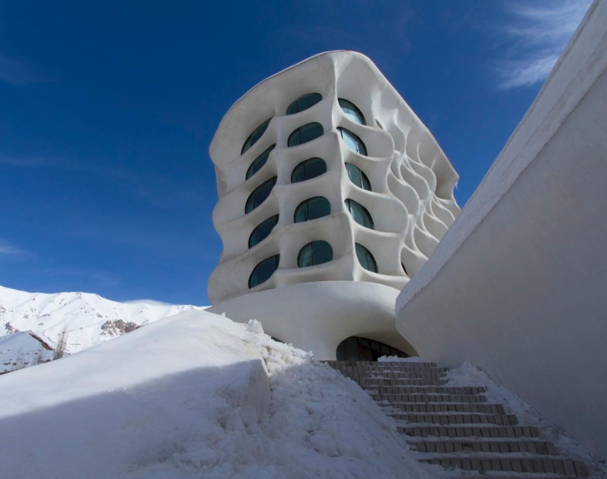 El hotel futurista en Oriente Medio