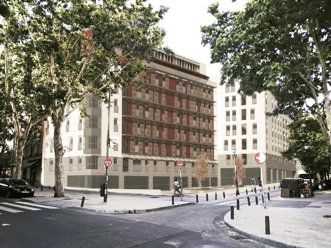 Sareb se convierte en promotor de vivienda. Suelo en Ribera de Curtidores, 35 (Madrid)