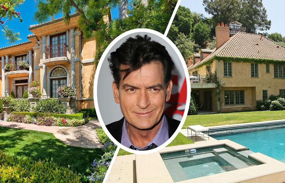 La casa del actor estadounidense Charlie Sheen