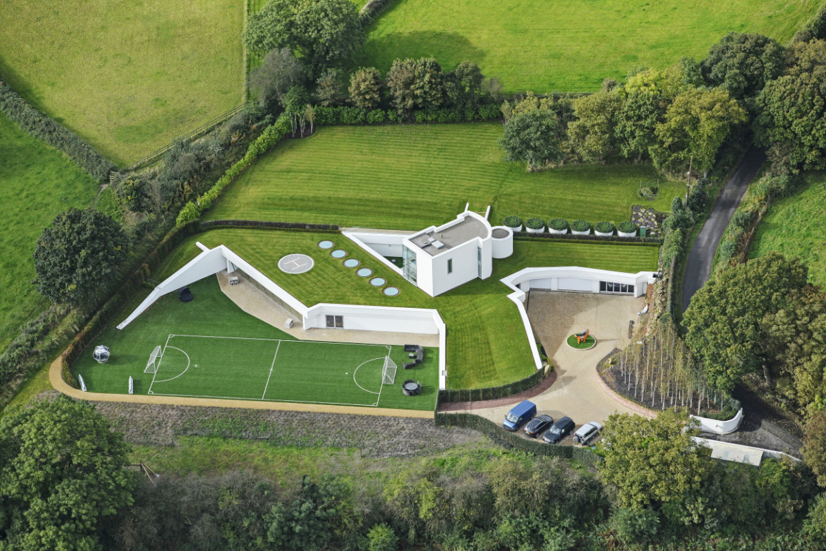 La vivienda subterránea construida en Inglaterra