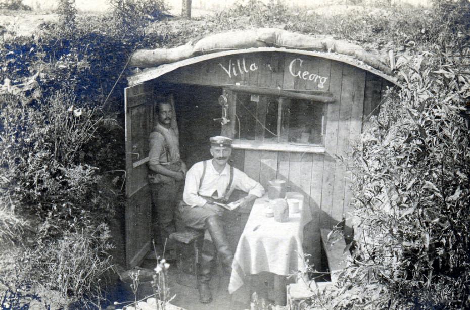 Una foto de la antología Postales desde la Gran Guerra