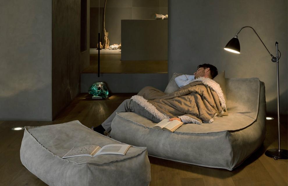 Un sofá relajante