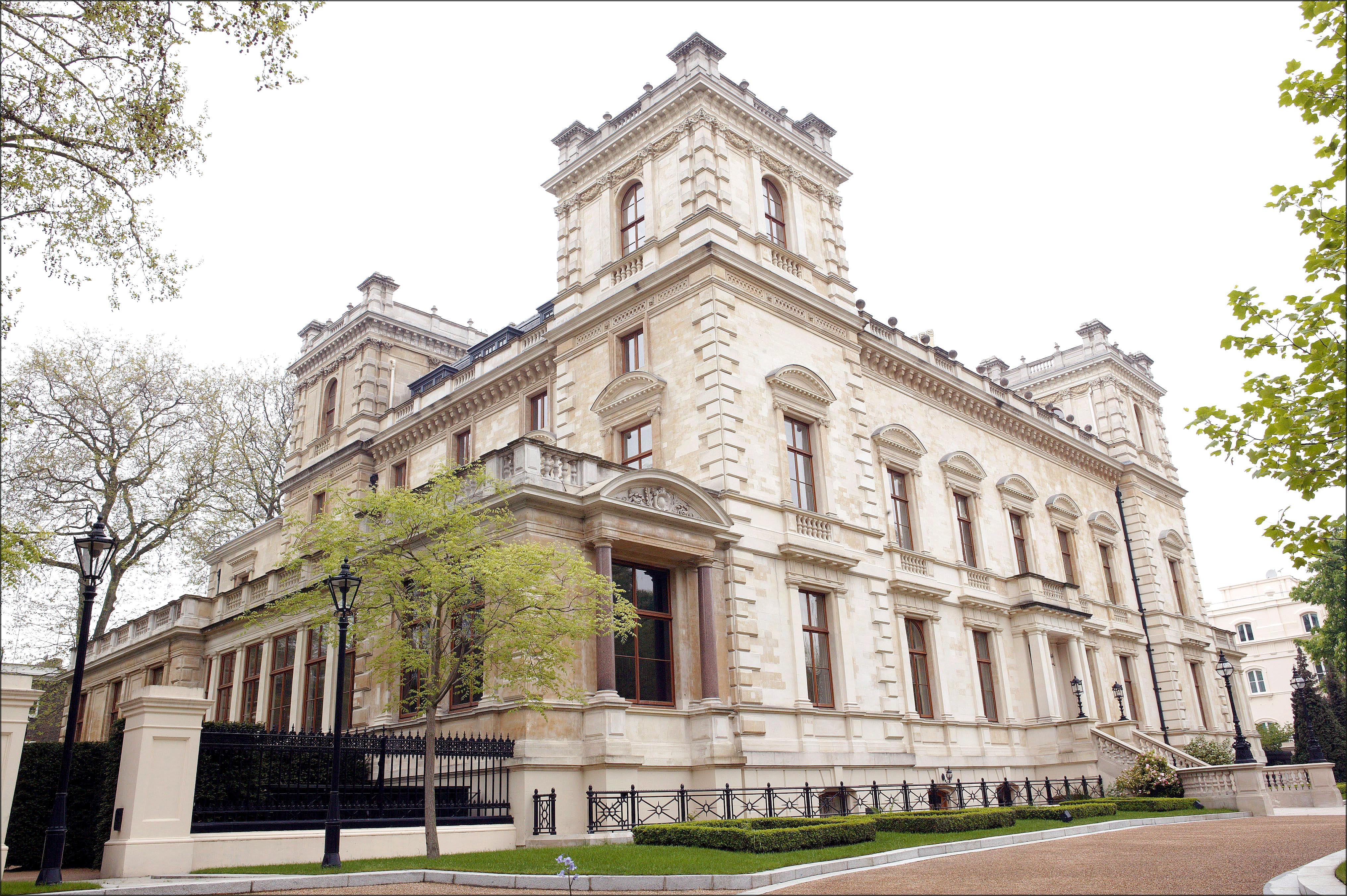 La casa de lujo de Bernie Ecclestone en Londres