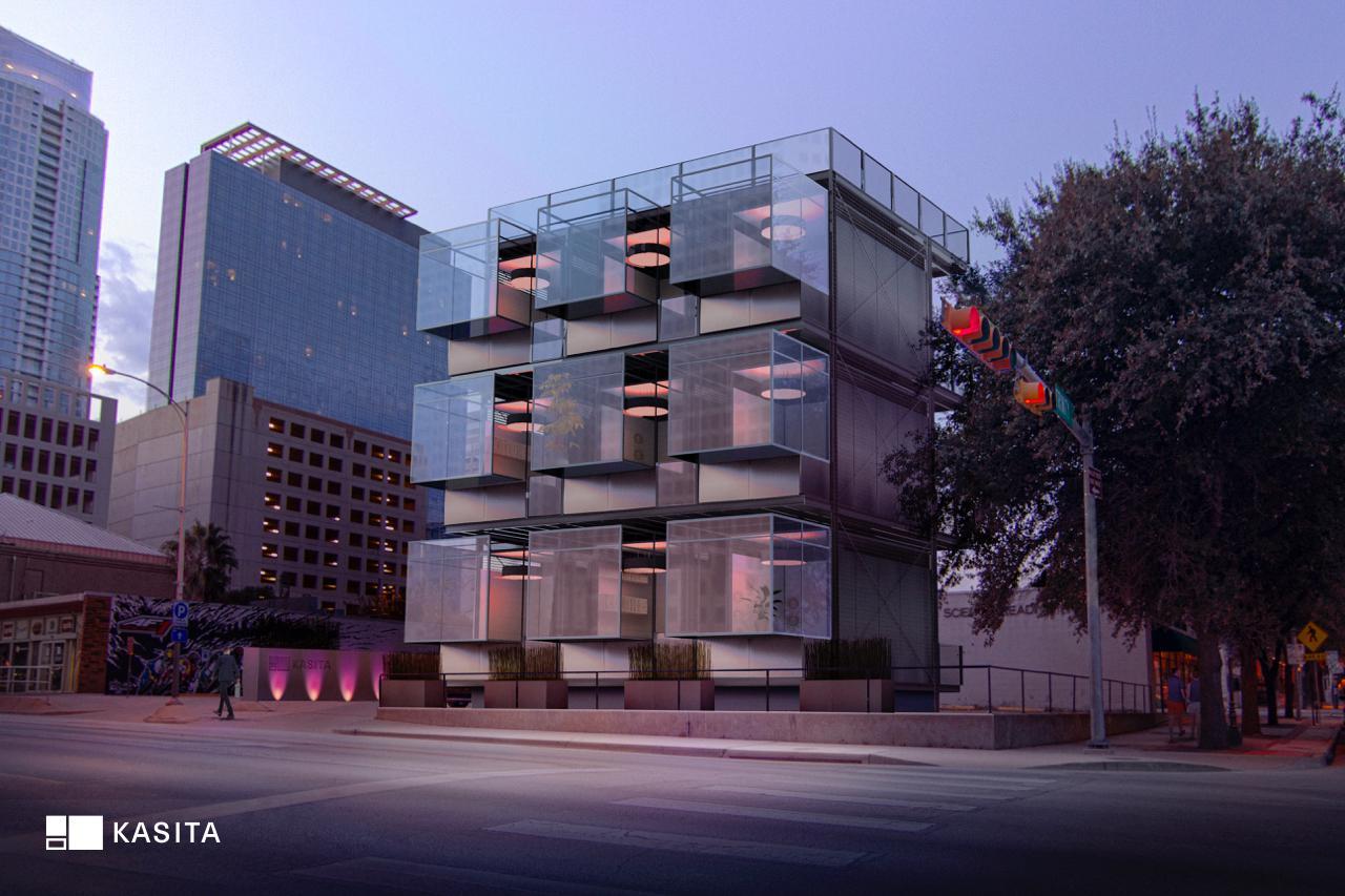 Una casa modular