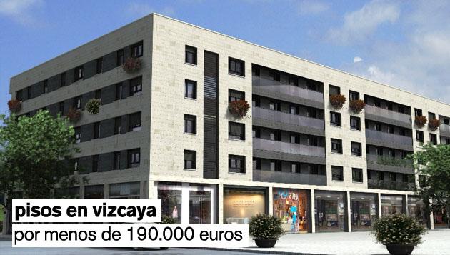 Los pisos nuevos más baratos de Vizcaya