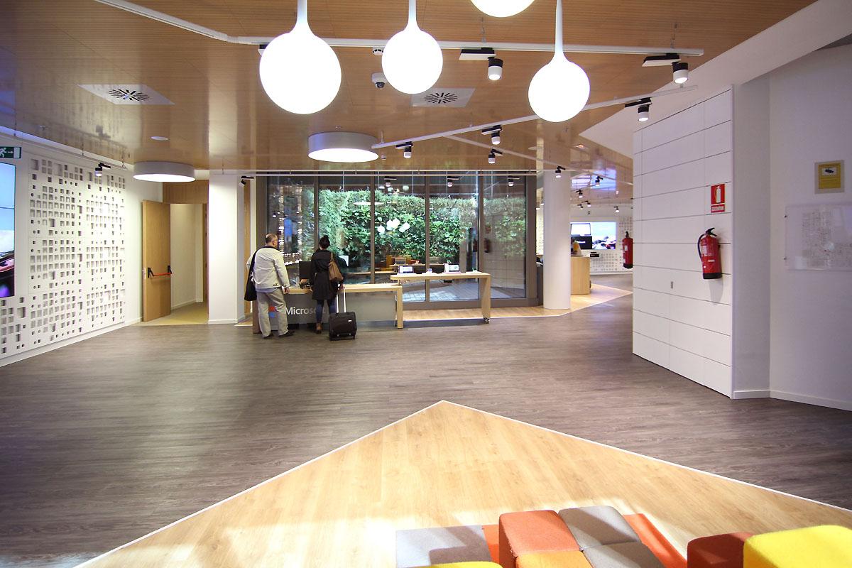 Las oficinas de Microsoft