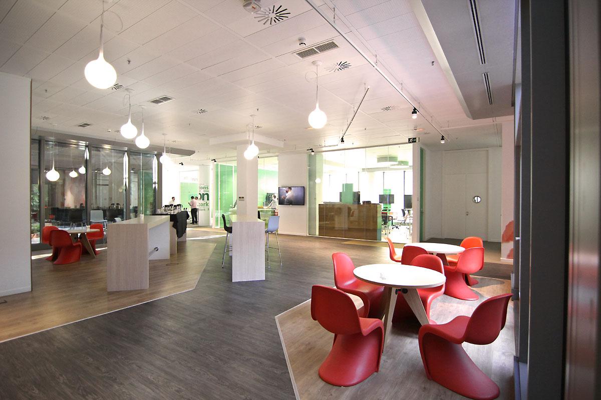 Microsoft apuesta por oficinas modernas