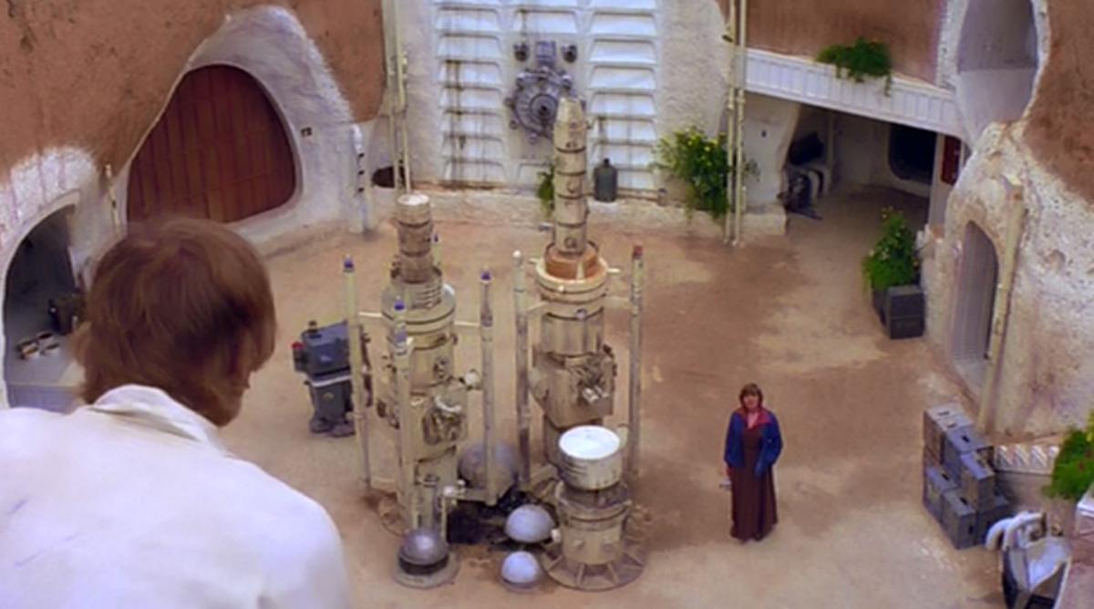 Una imagen de la película Star Wars
