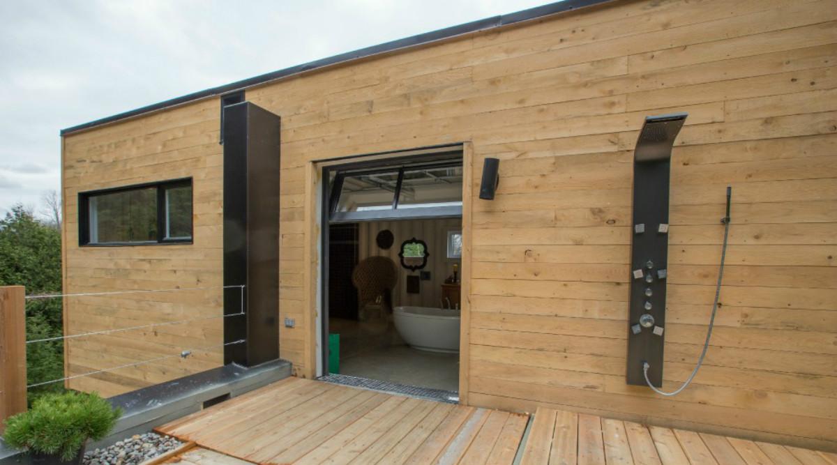 Reciclaje de lujo una espectacular casa de campo hecha Casas con contenedores precios