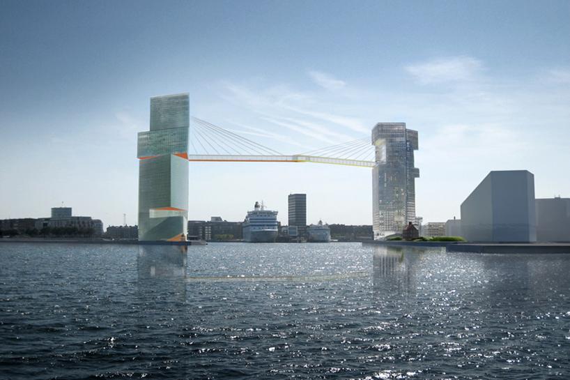 Así será el puente acristalado de Copenhague