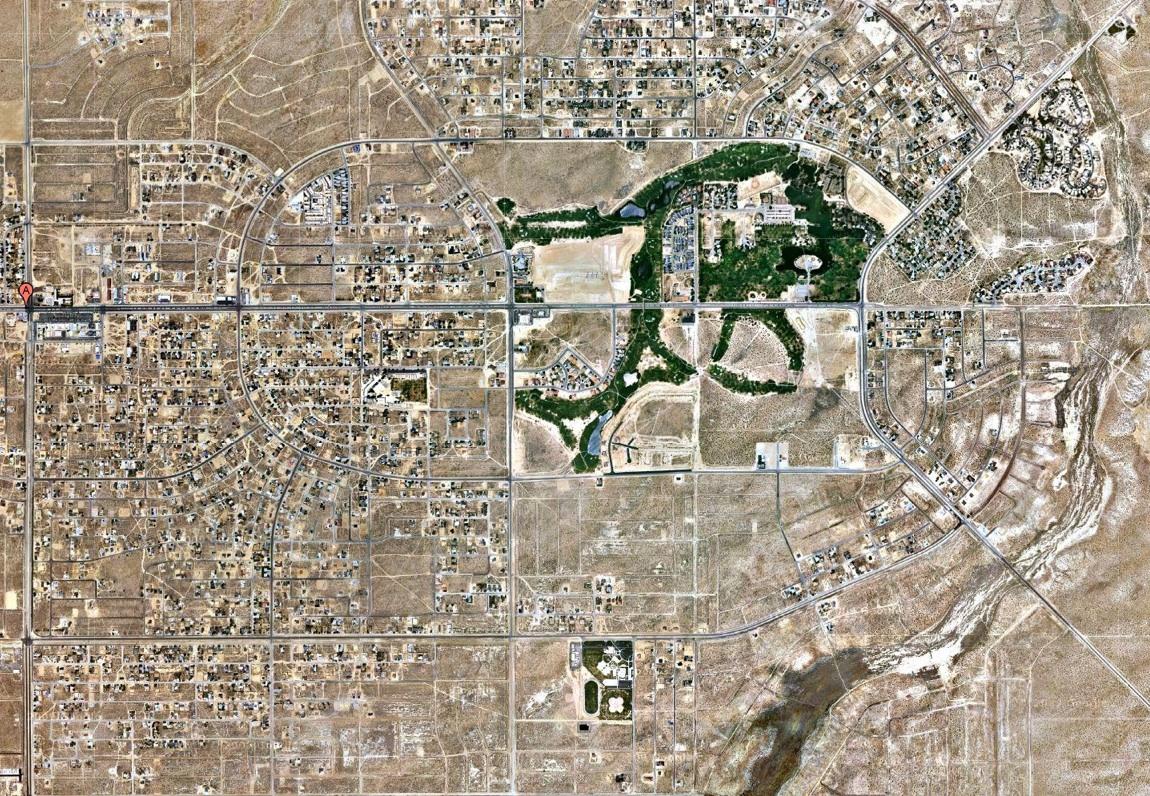 California city se encuentra en medio del desierto de Mojave
