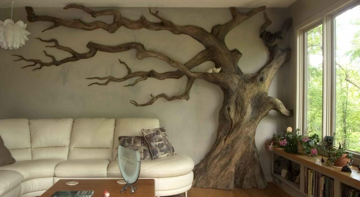 Ideas de decoraci n c mo tener una casa salvaje gracias for Que significa dibujar arboles secos