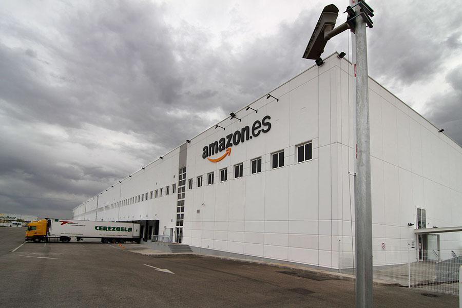 El centro logístico de Amazon en San Fernando de Henares