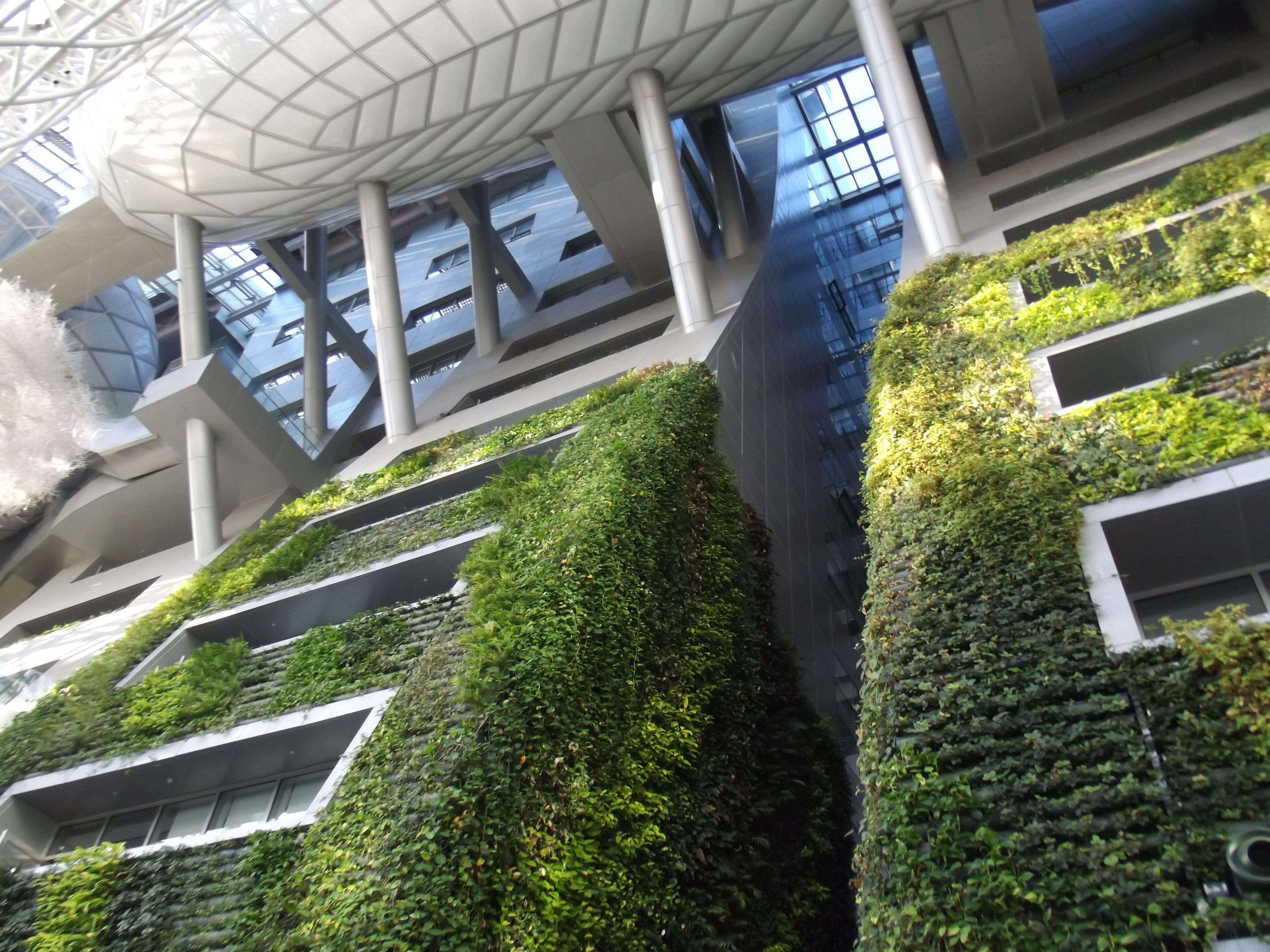 Jardín vertical en Corea del Sur
