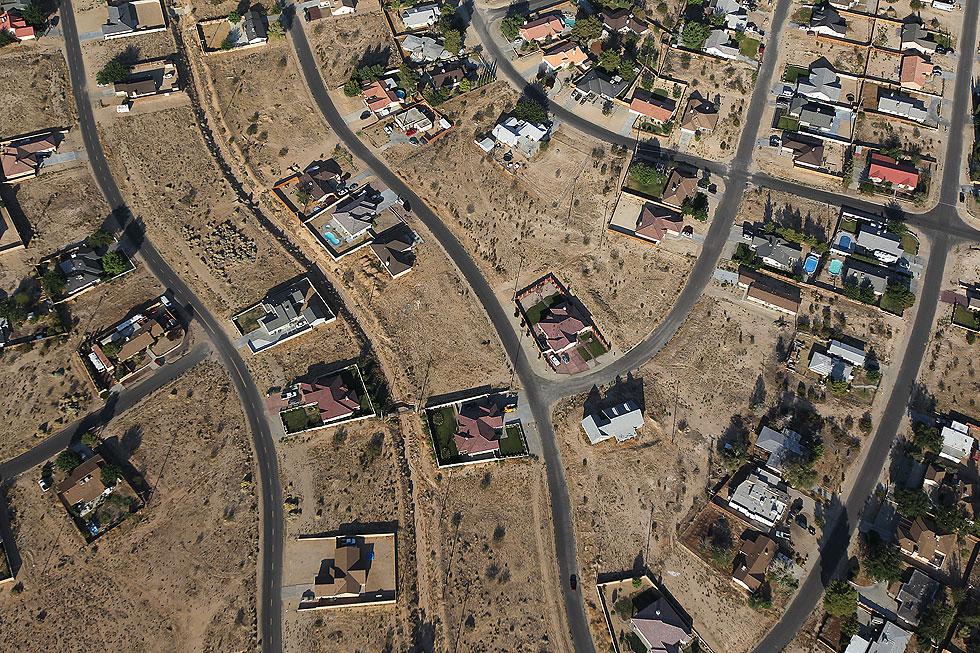 La ciudad fantasma construida en EEUU