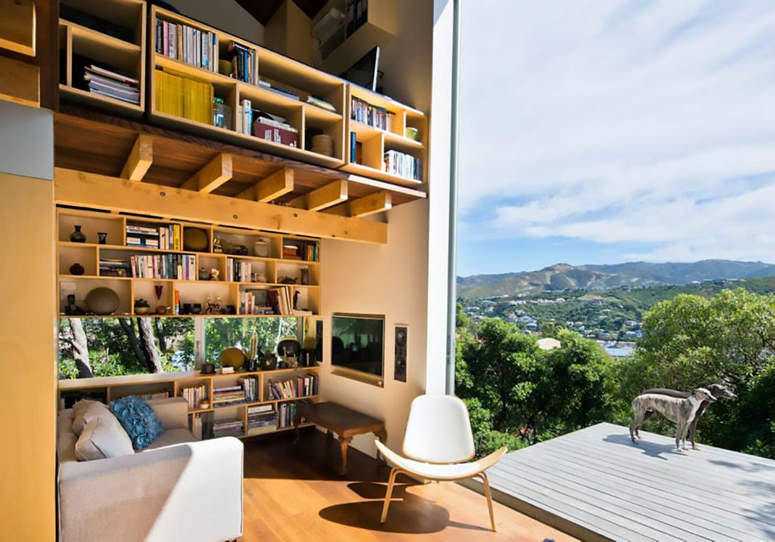 La pequeña casa de diseño