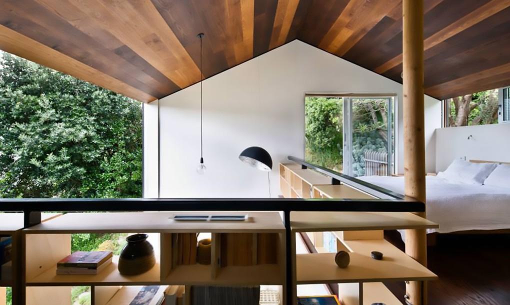 El mini piso diseñado siguiendo los preceptos del diseño japonés