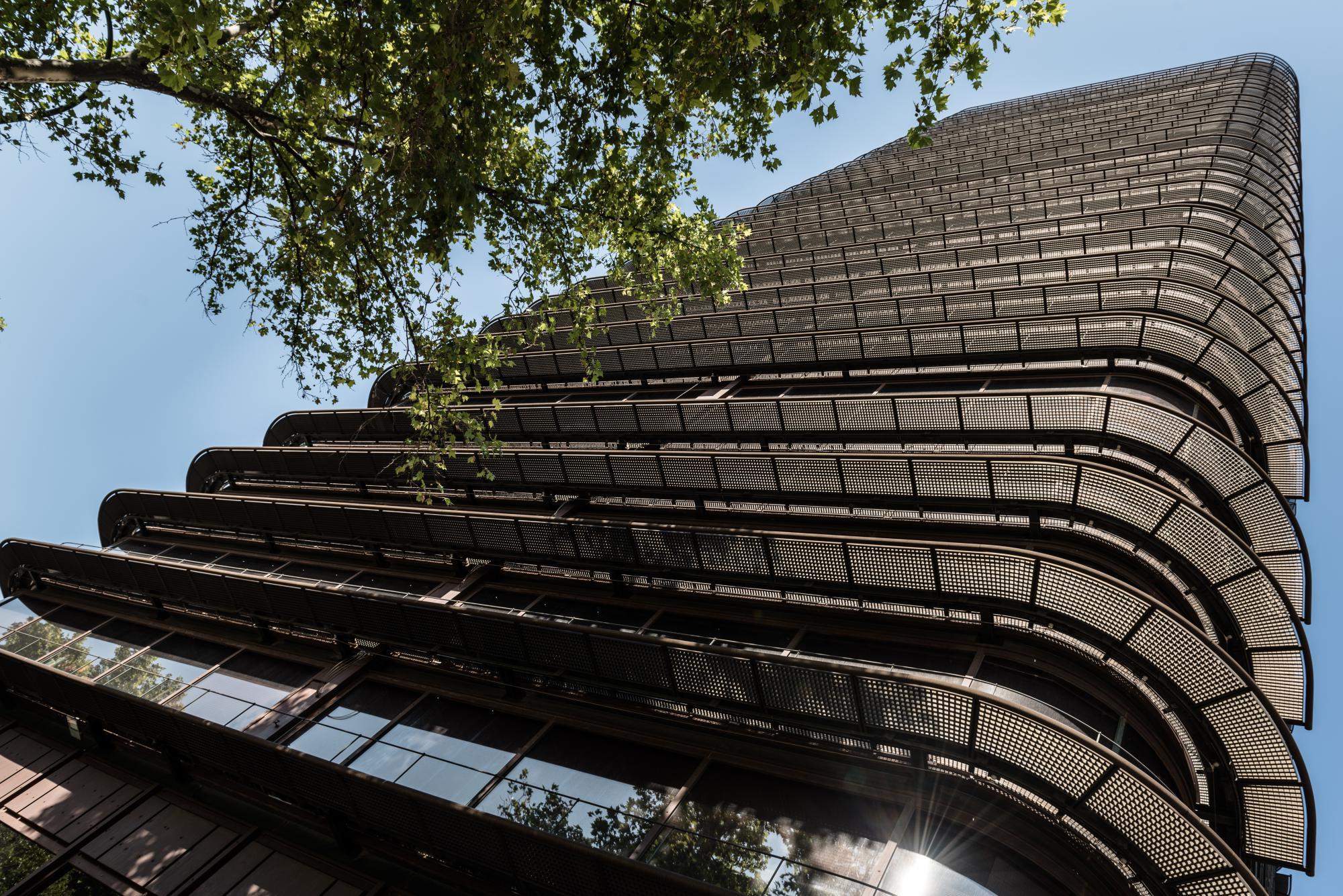 La Torre BBVA en el Paseo de la Castellana de Madrid