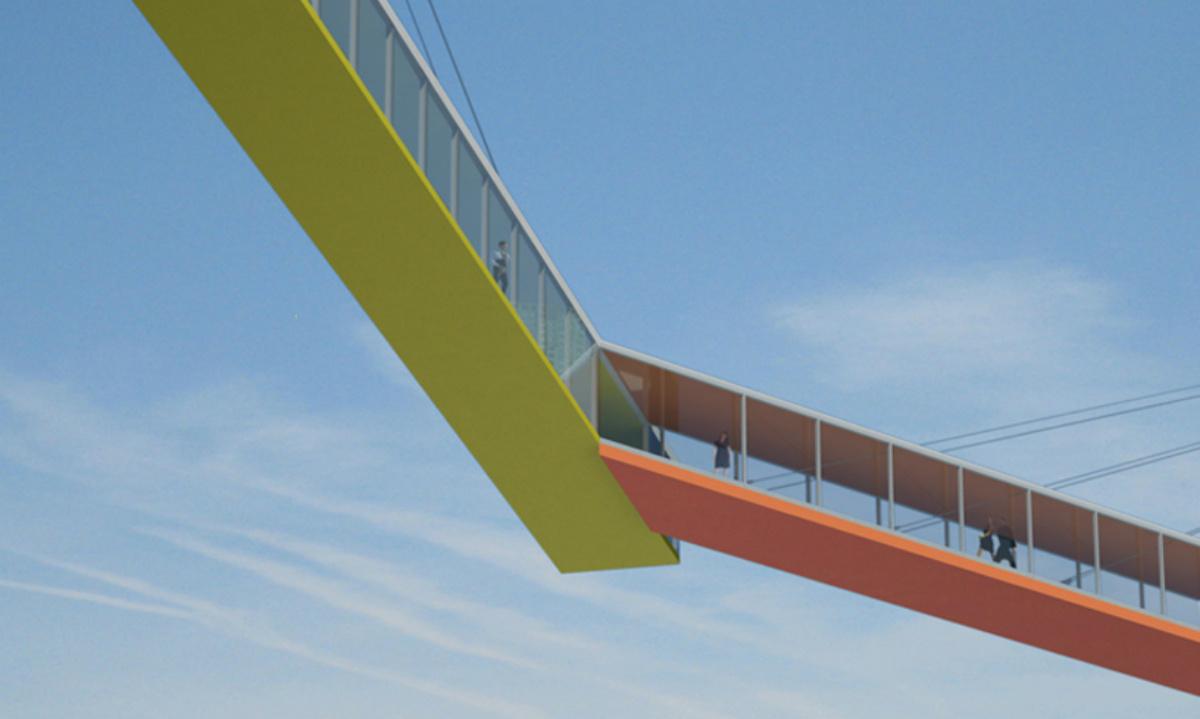 La puerta de copenhague 39 el puente acristalado a 65 for Idealista puertas verdes