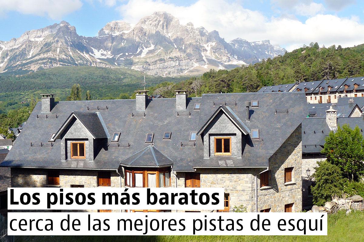 Los 25 pisos en venta m s baratos en pistas de esqu for Pisos baratos en torrijos