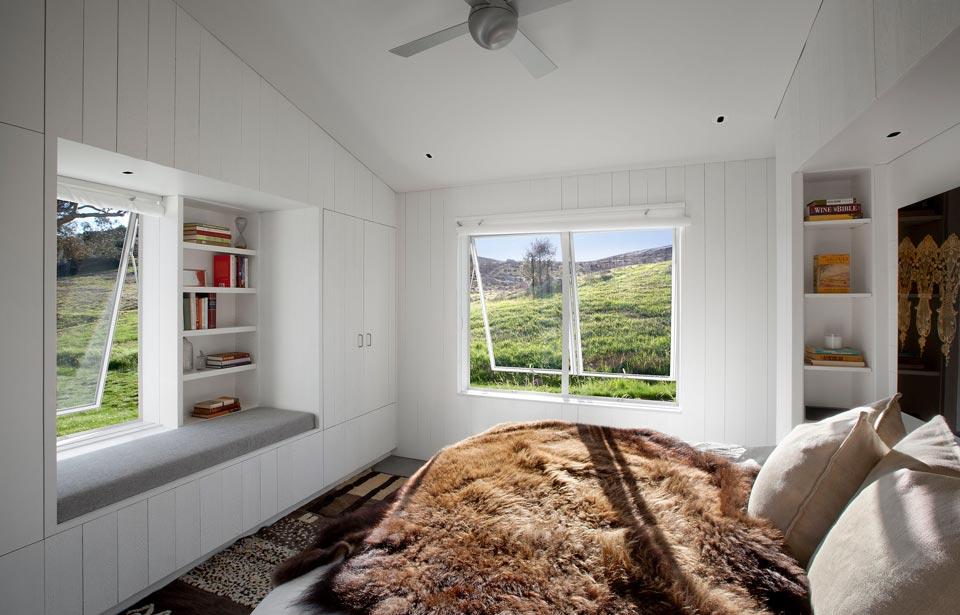 Interior de la vivienda sostenible