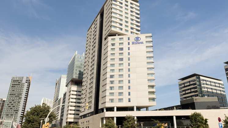 El hotel Hilton de Barcelona