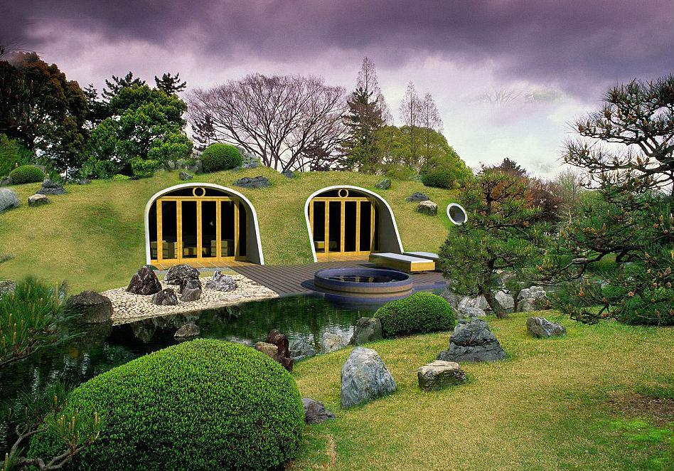 Casas de hobbits que se construyen en solo tres d as y son - La casa de los hobbits ...