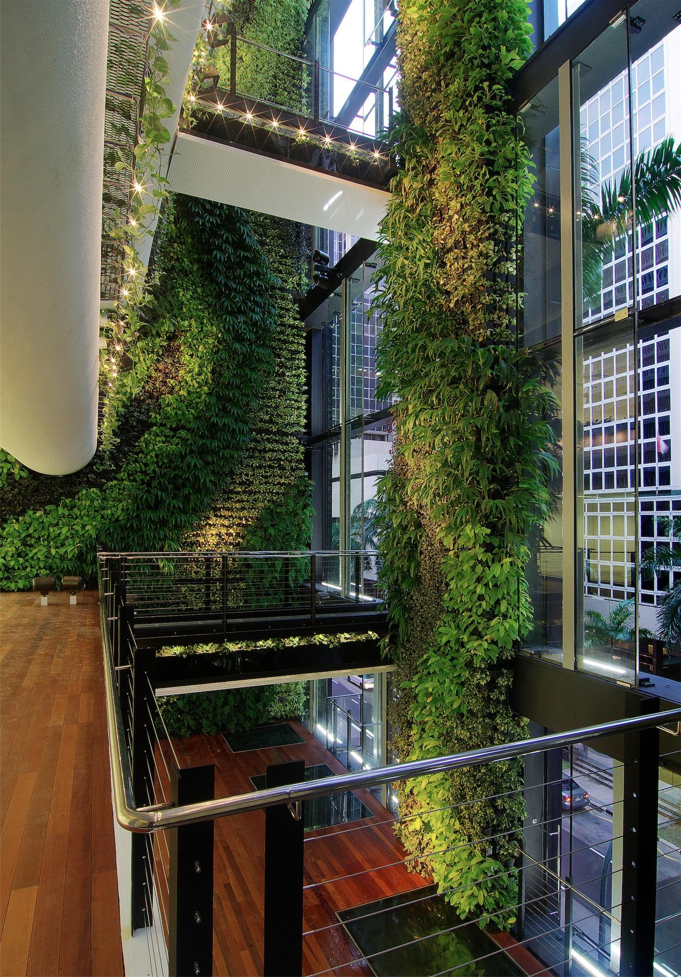 Los 11 jardines verticales m s espectaculares del mundo - Jardin vertical de interior ...