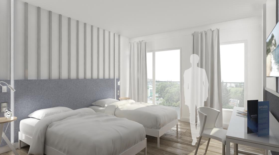 Habitaciones del nuevo hotel de lujo en San Sebastián