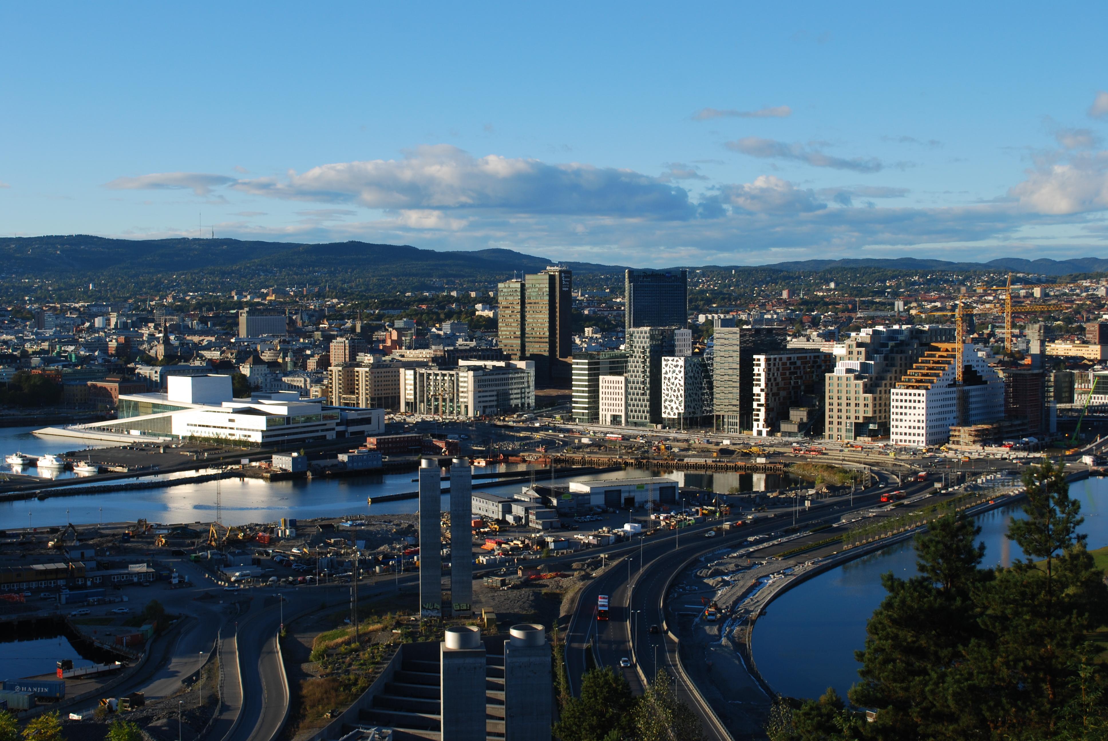 Una imagen de la capital Noruega