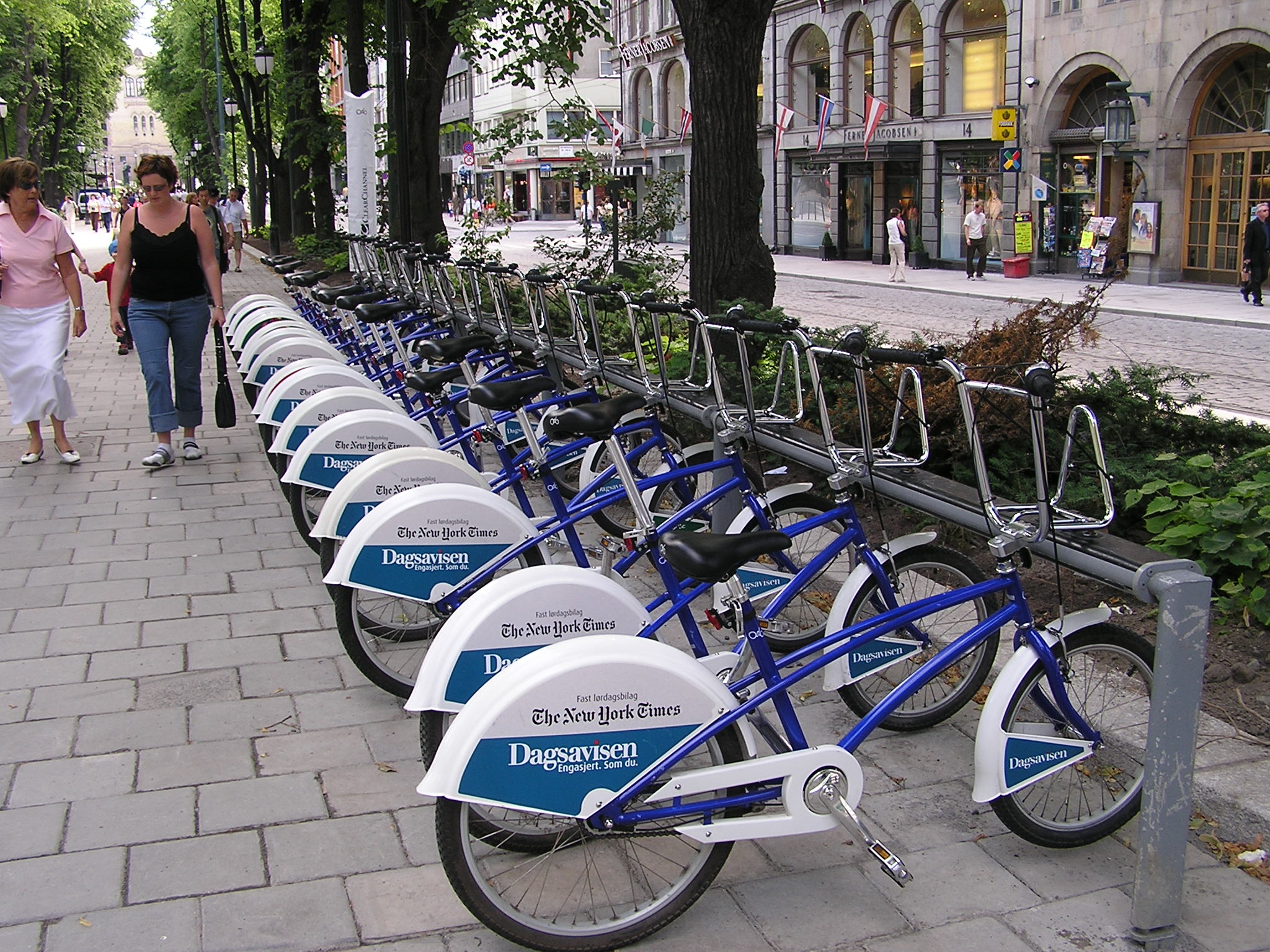 Bike sharing en Oslo