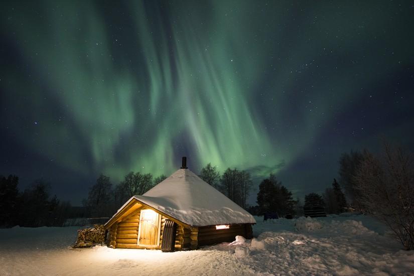 El hotel en el Círculo Polar Ártico