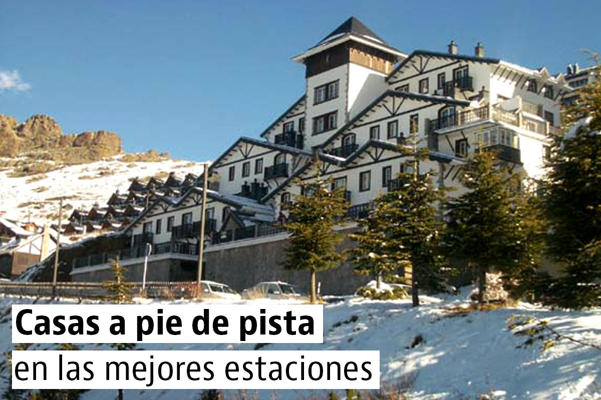 Casas y pisos baratos en las estaciones de esquí
