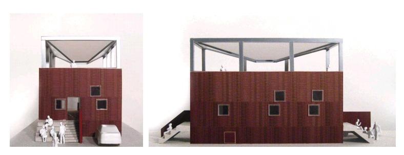 Plano para la construcción de una casa sostenible
