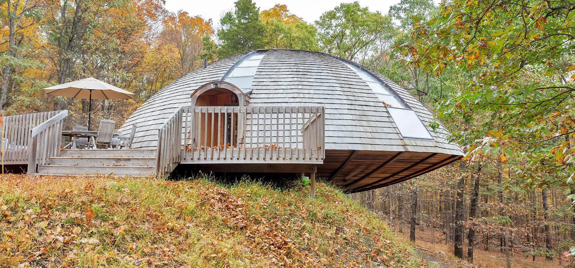 Casas de ensue o una vivienda ecol gica de lujo con forma - Casas de ensueno ...