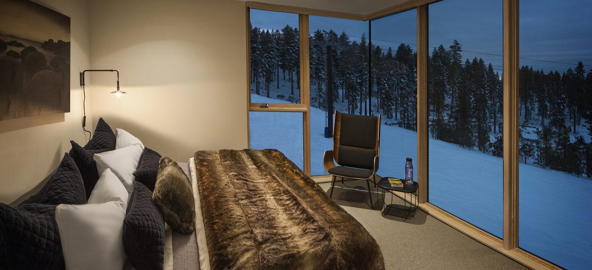 Una casa 'a pie de pista', el lugar perfecto para disfrutar de los deportes de invierno