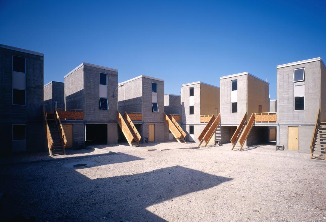Casas populares diseñadas por el famoso arquitecto