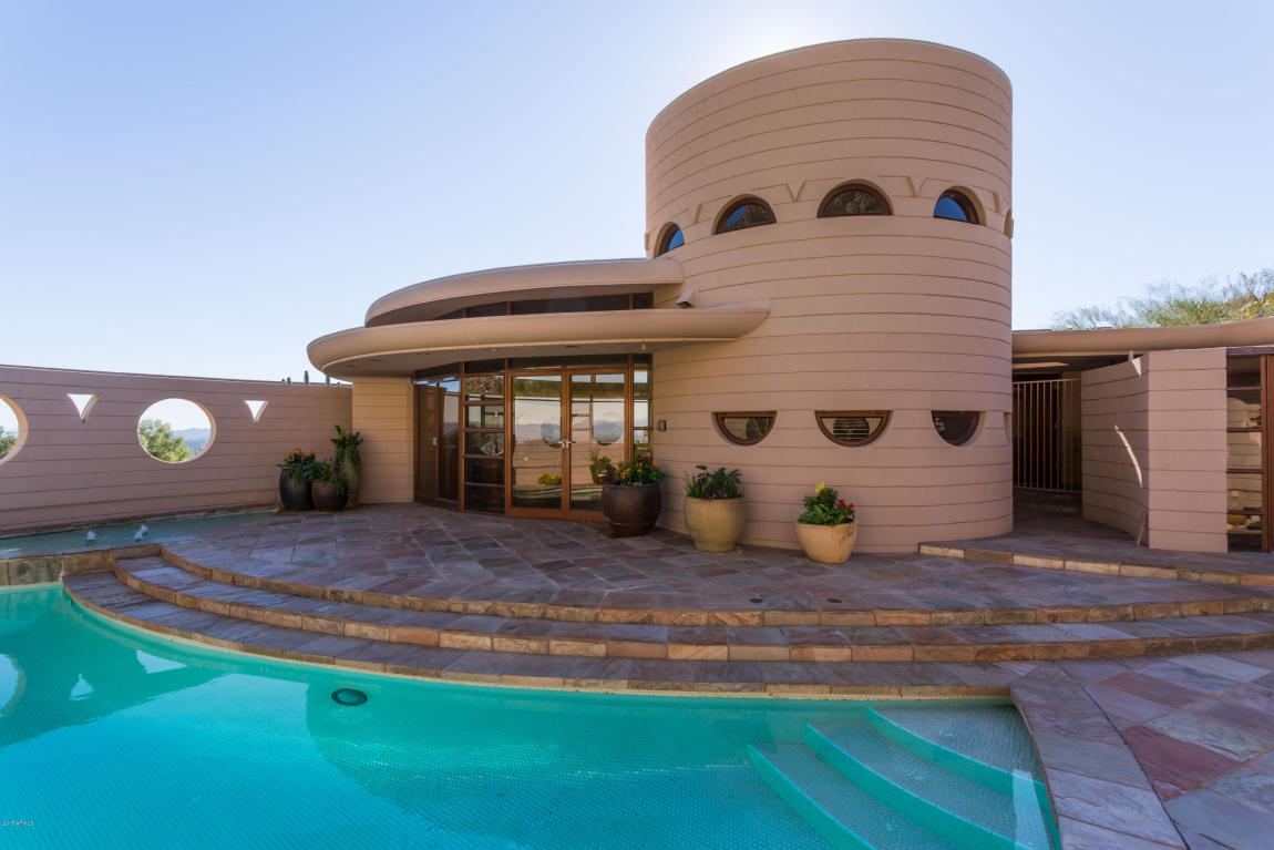 Casa diseñada por Frank Lloyd Wright