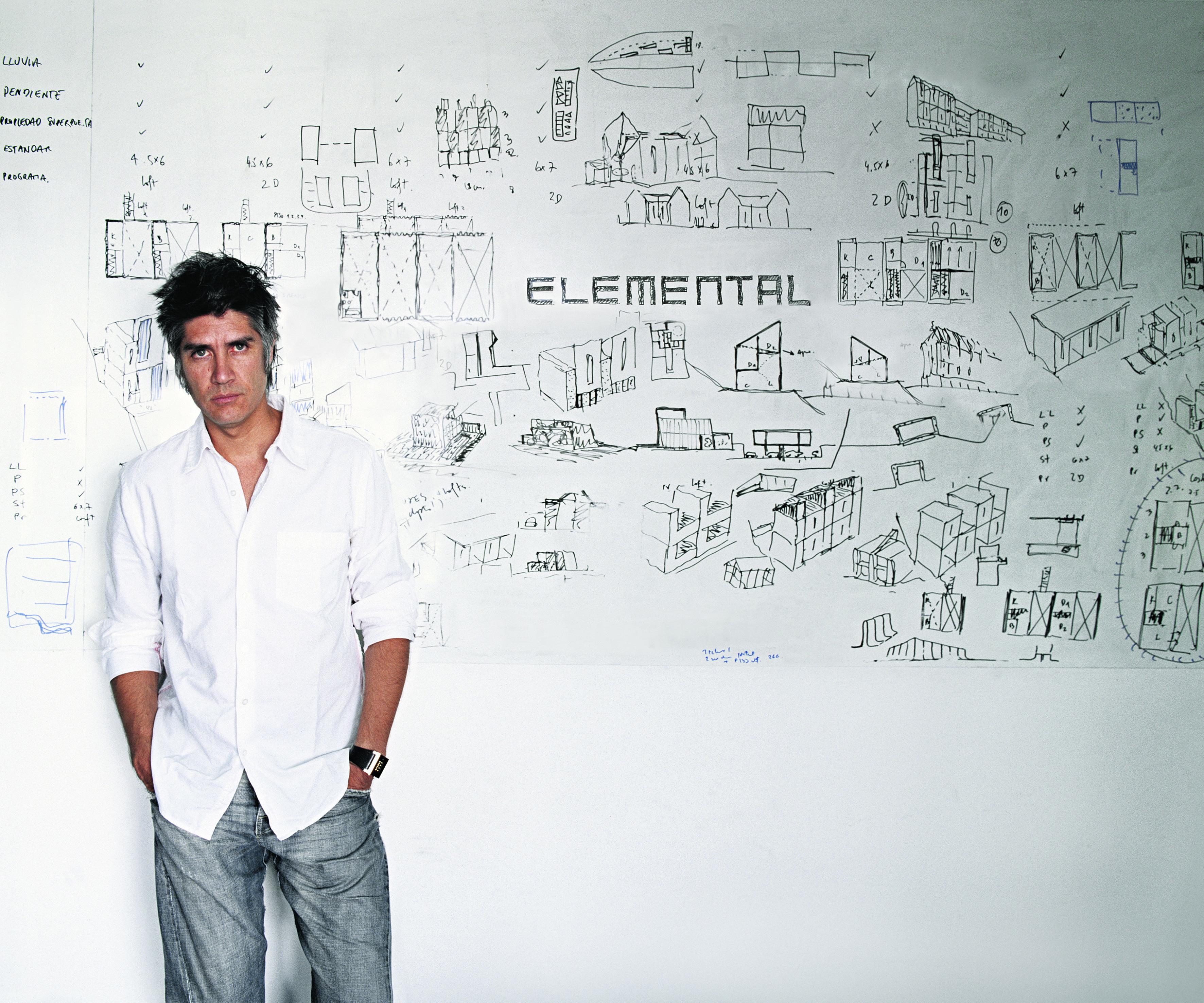 El arquitecto chileno Alejandro Aravena