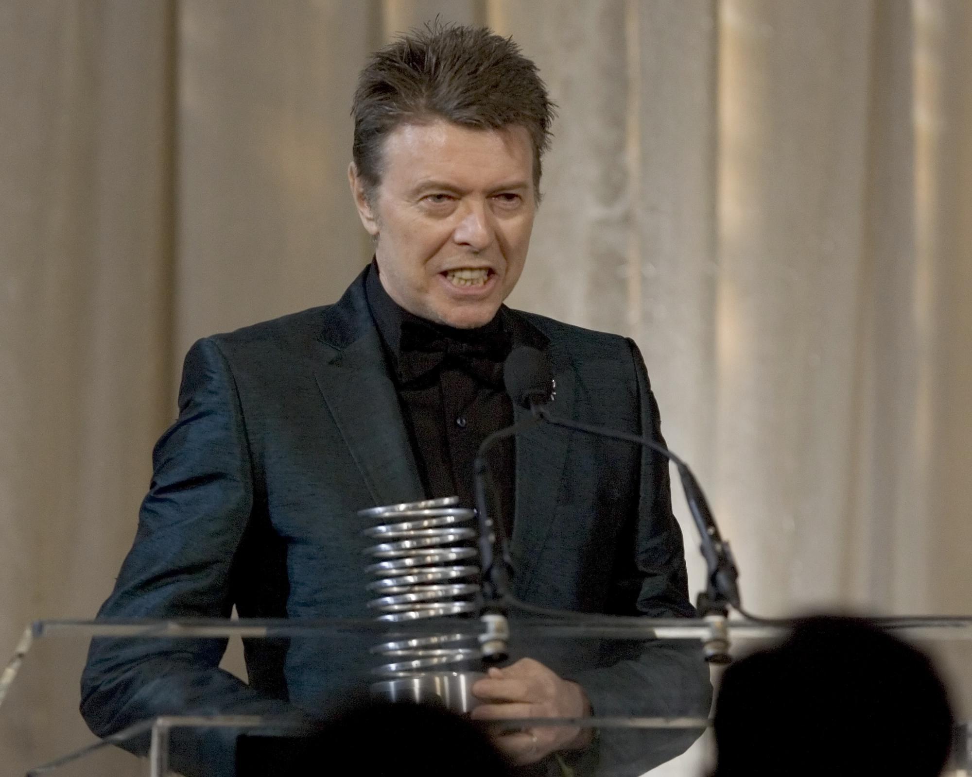 David Bowie, el famoso cantante recién fallecido