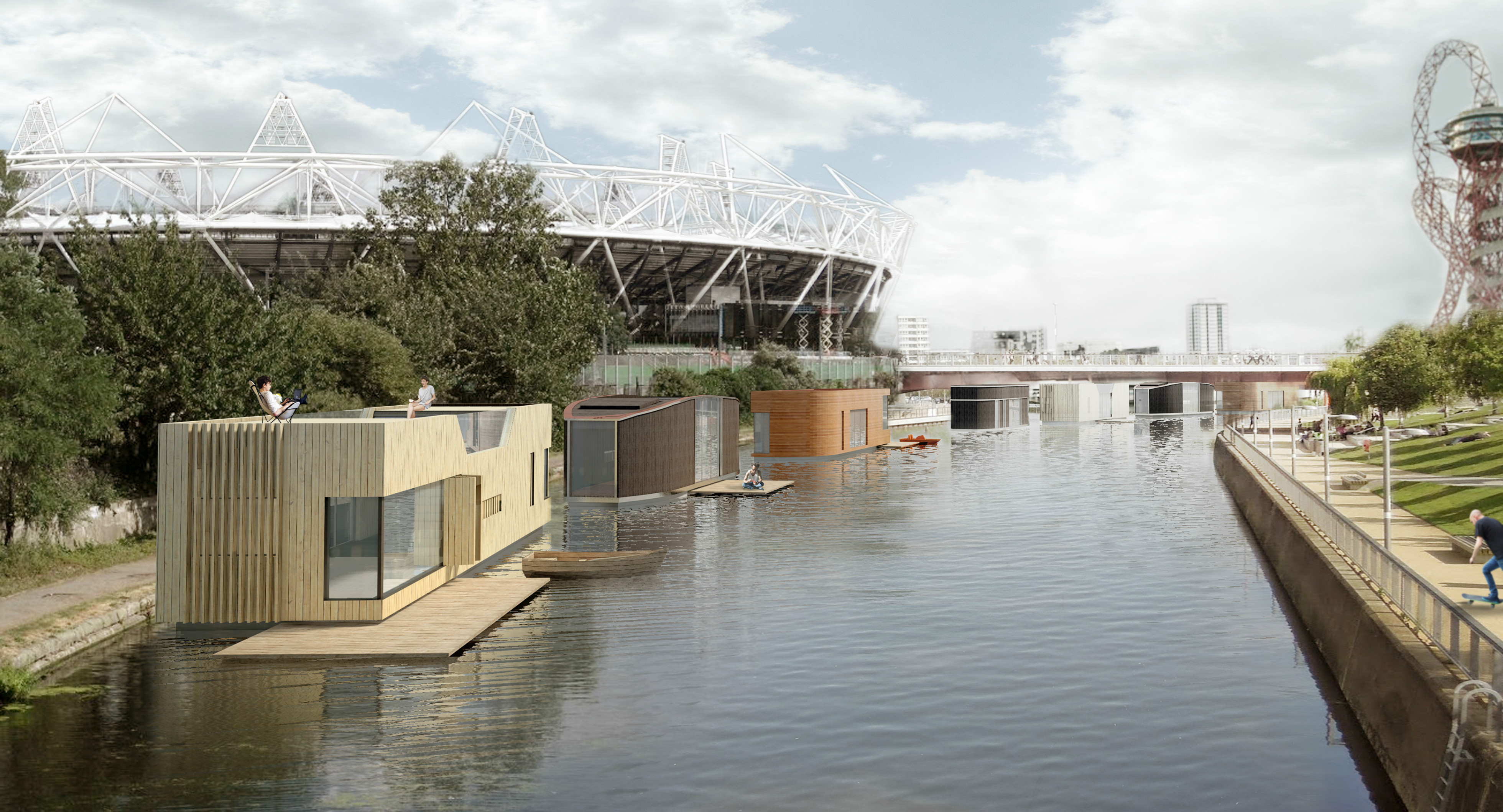 Construcciones flotantes