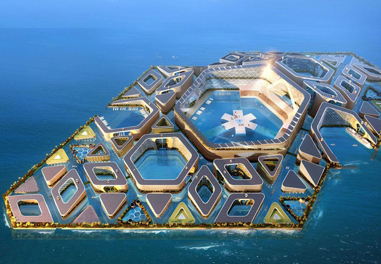 isla urbana artificial