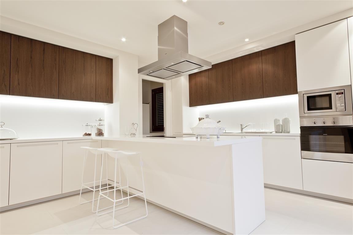 Cocina de diseño abierto