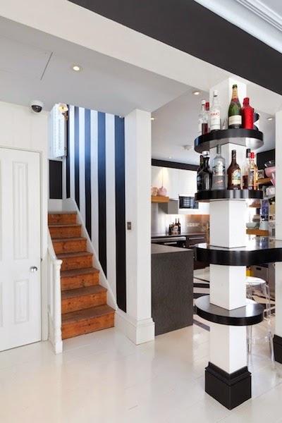 Ideas de decoraci n c mo sacar provecho a las inc modas - Como decorar una columna en el salon ...