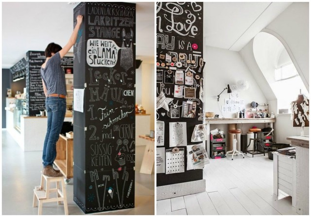 Ideas De Decoracion Como Sacar Provecho A Las Incomodas Columnas Y - Como-decorar-columnas