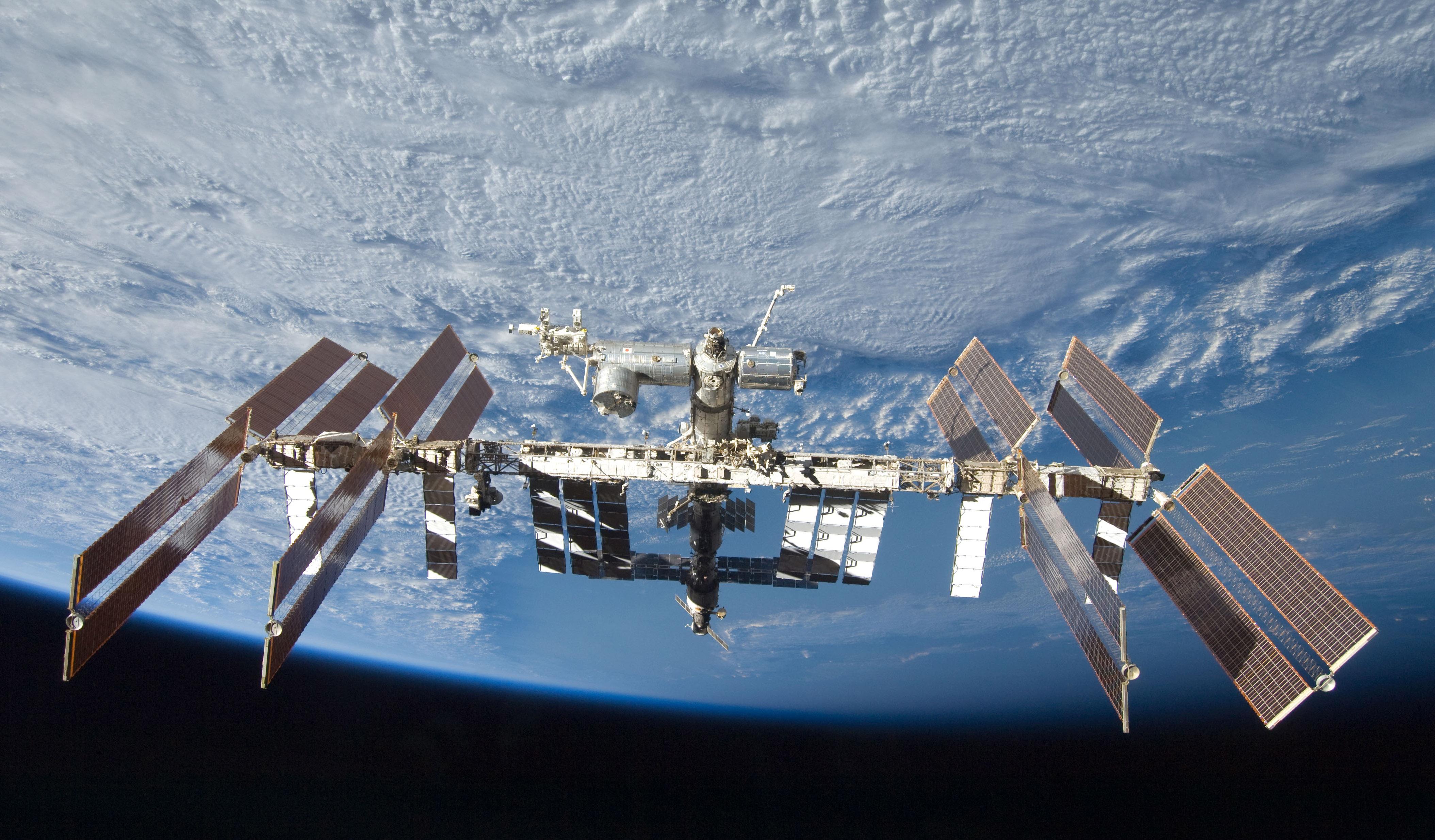 El gran tamaño de la Estación Espacial Internacional