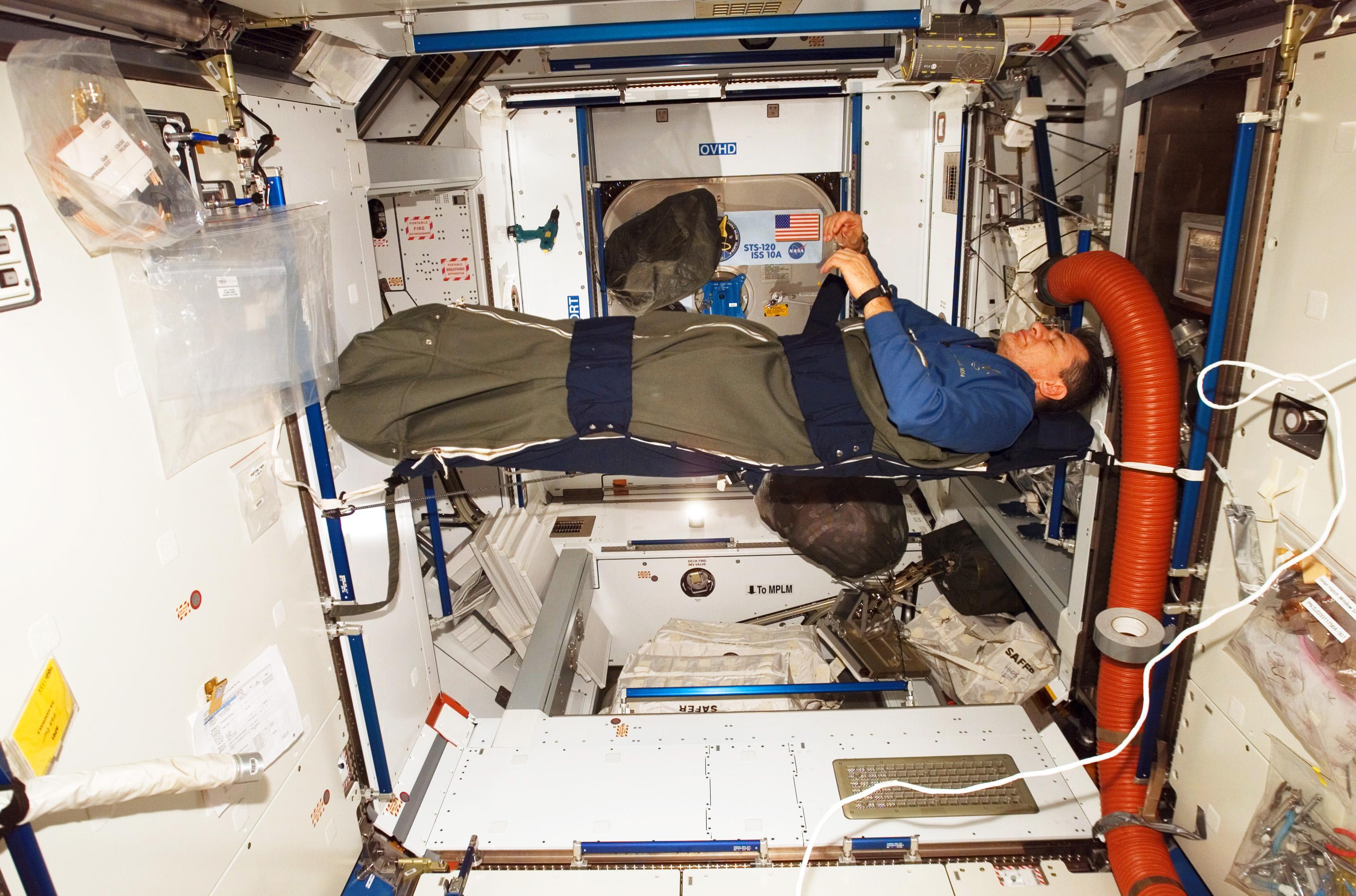 El interior de la Estación Espacial Internacional