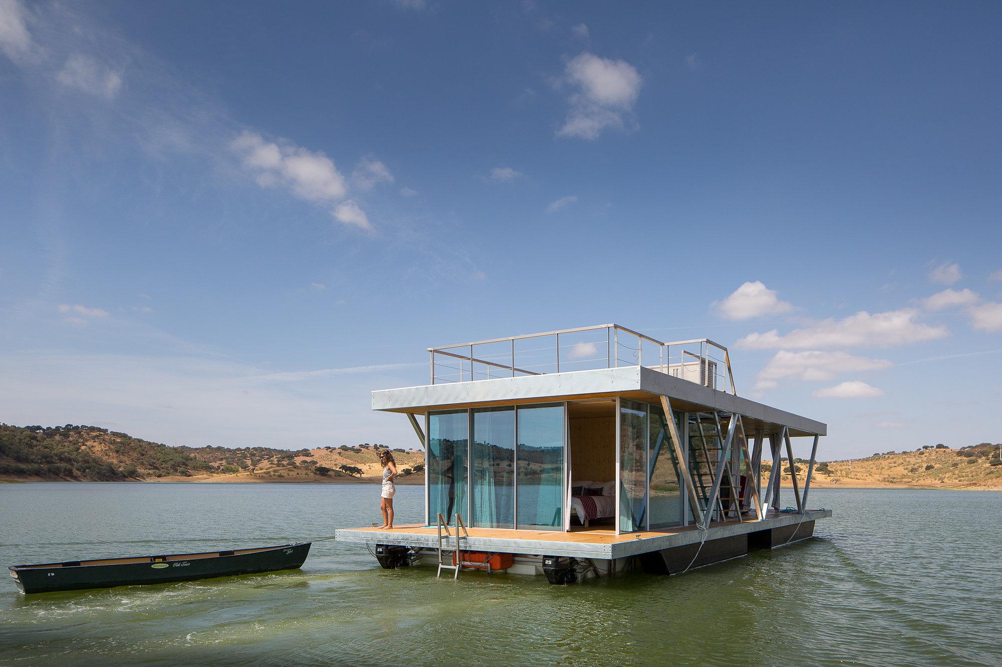 La casa flotante autosuficiente